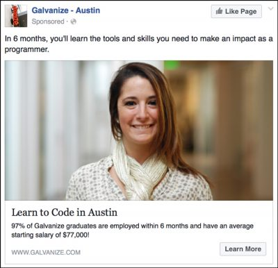 local faacebook ad1